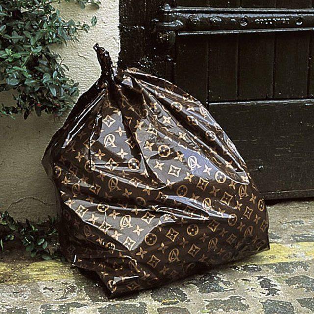la poubelle de luxe
