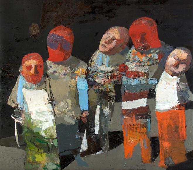 une somptueuse peinture de Jean-Pierre Ruel