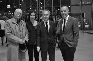 Le critique agréé Ami Barak, l'artiste primée, le fonctionnaire Blistène, le financial galerist Kamel Mennour
