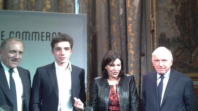 Trois générations de Pinault et la Ville de Paris