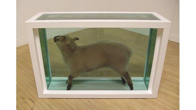 le mouton toxique de Hirst