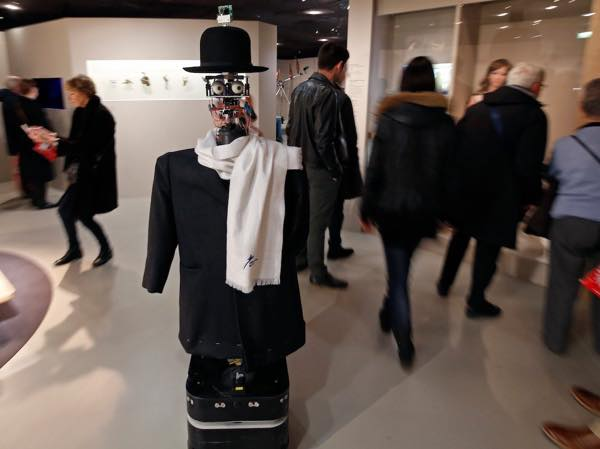 Mr Berenson, robot -critique d'art, membre de l'AICA