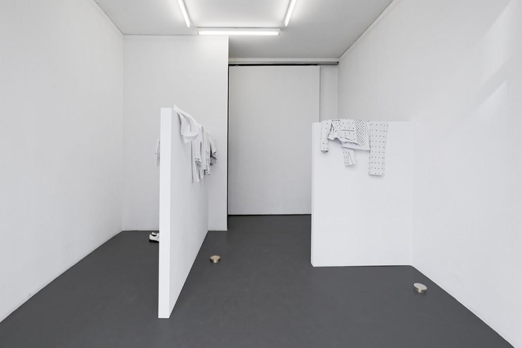 """oeuvre de Mr Paulin au FRAC Ile de France, intitulée """"notes sur l'ambiance"""""""
