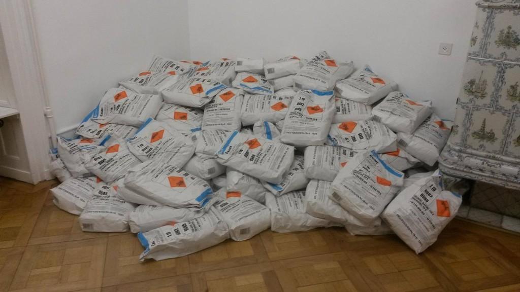 les sacs d'exploif Exan