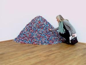 le tas de bonbons de Félix Gonzalez Torres