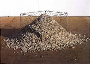Un ancêtre du tas : celui de Bernard Pagès-Supports-surfaces